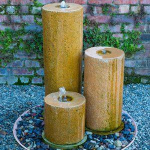 Waterstone 3 Pillar Water Feature