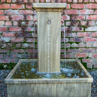 Square Pillar Water Feature