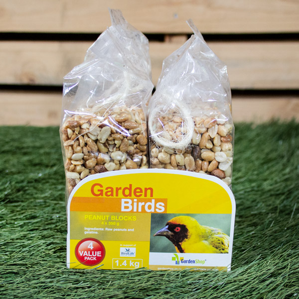 70041108 - Garden Bird Peanut Block ValuePack 4 x 350g