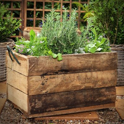 Planted Kitchen Crate