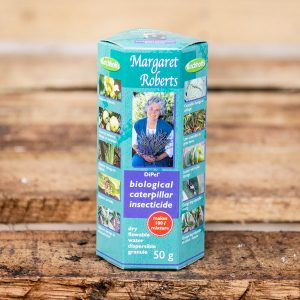 Margaret Roberts – Biological Caterpillar Insecticide 50g