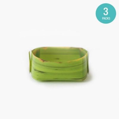 Banana Leaf Tray Small