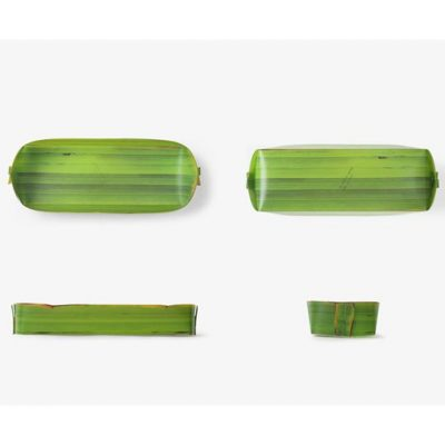Banana Leaf Tray Long