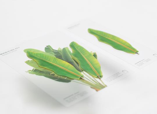 Bookmark pen 2pcs Green7