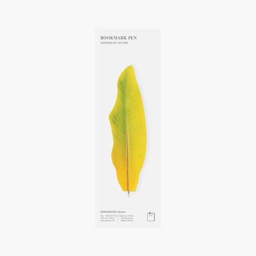 Bookmark pen Single Yellow3
