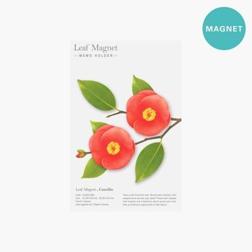 Leaf Magnet Camellia Red4