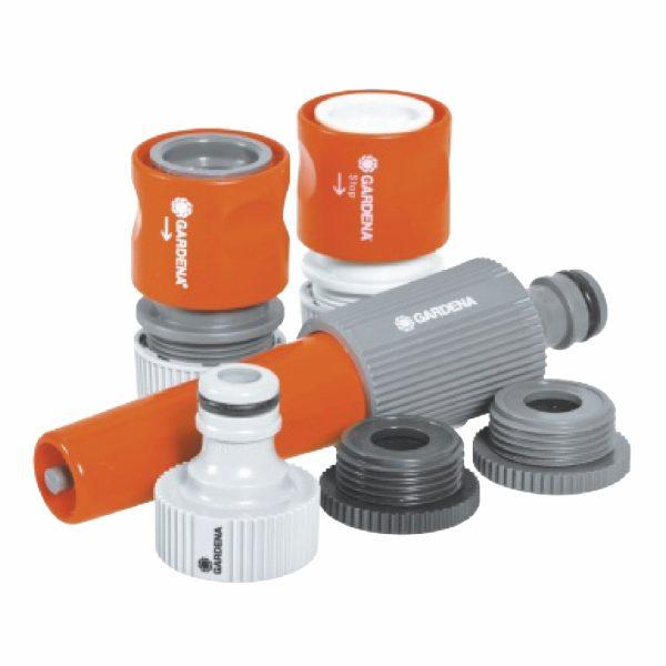 6042-Gardena-System-Basic-Set-12.5mm-Hose-pieces