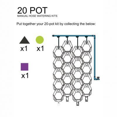 20 Pot Manual DIY Kit
