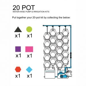 20 Pot Automatic DIY Kit