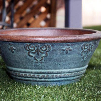 Taper Planter Blue