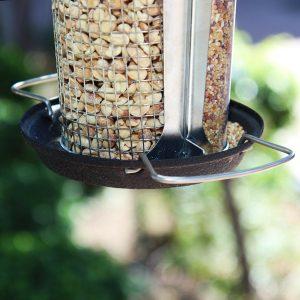 Dual Seed and Peanut Feeder