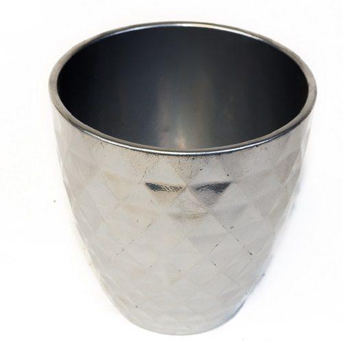 59 SC Pot Cover 632 Orchid Metal 15cm 8410669 17cm