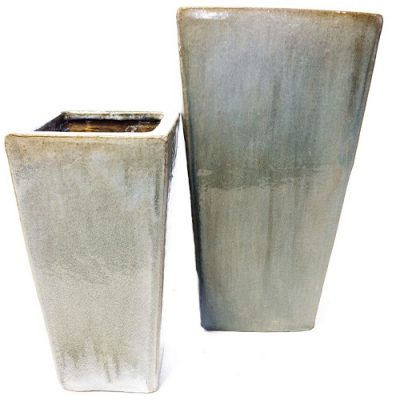 Tarro Square Grey Planter
