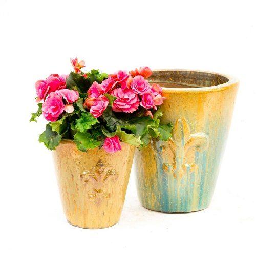 Fleur De Lys Planter