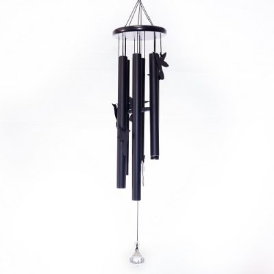 Hummingbird Chime Black