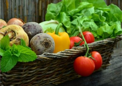 Vegetable-Harvest-Basket-400x284 Growing Vegetables @ Home