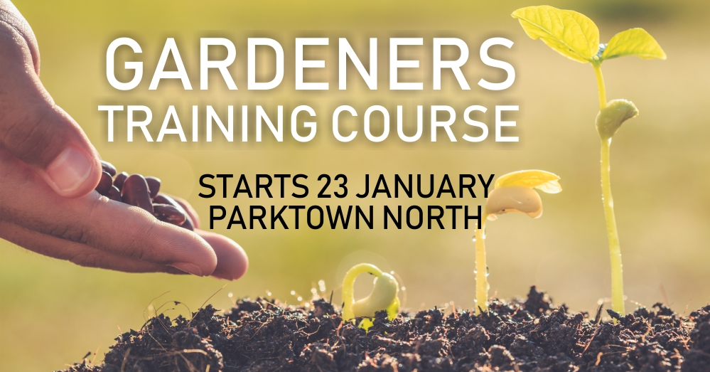 GARDENERS-TRAIINING-PTN-JANUARY Competent Gardeners Course @ Parktown North