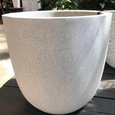 Hadeco Planter Egg Grey