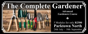 Gardener's Course Parktown North