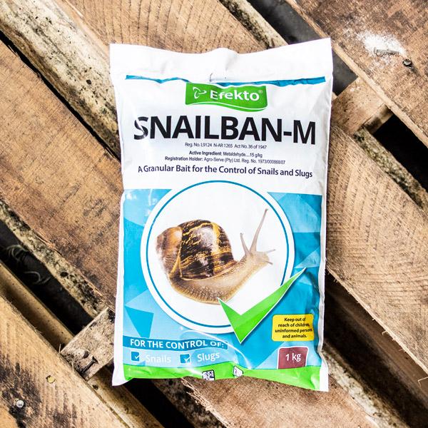 14255000 - Efekto - Snailban 1kg Plastic Bag