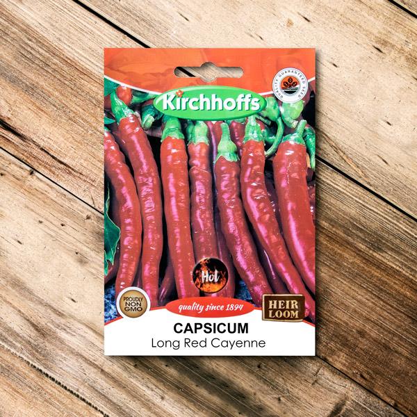 19000000 - Kirchhoffs - Capsicum Long Red cayenne