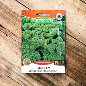 Kirchhoffs – Parsley Champion Moss curled