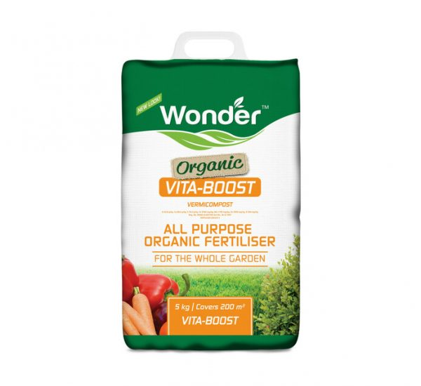 70013553 - Wonder Organic Vita-Boost Vermicompost 5kg