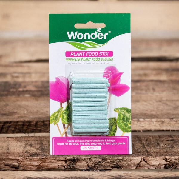 70032166 - Wonder - Plant Food Stix 25 spikes
