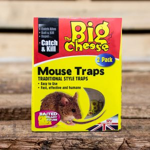 MM Baited Mouse Trap Twinpack