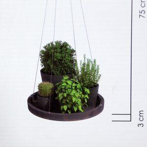 Eco Hanging Saucer WG