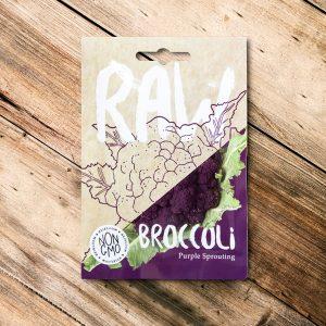 Raw – Broccoli Purple Sprouting