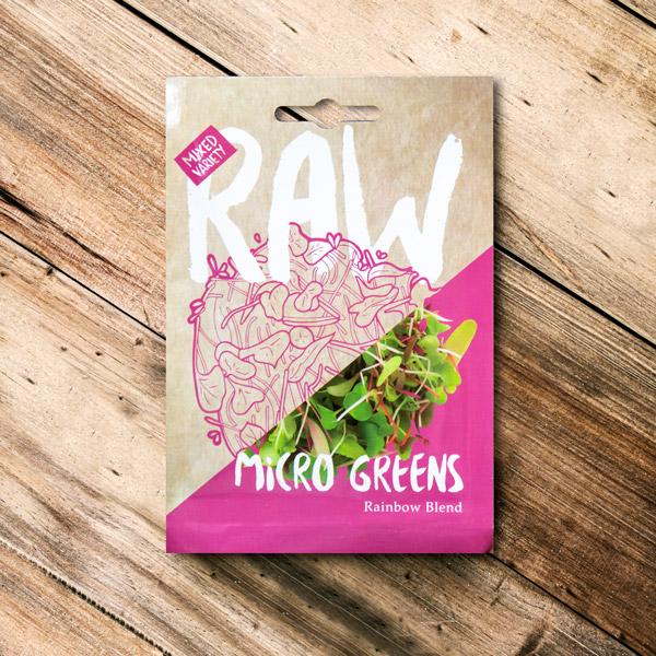 70062634 - Raw - Micro Greens Rainbow Blend