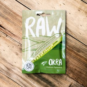Raw – Okra clemson spineless