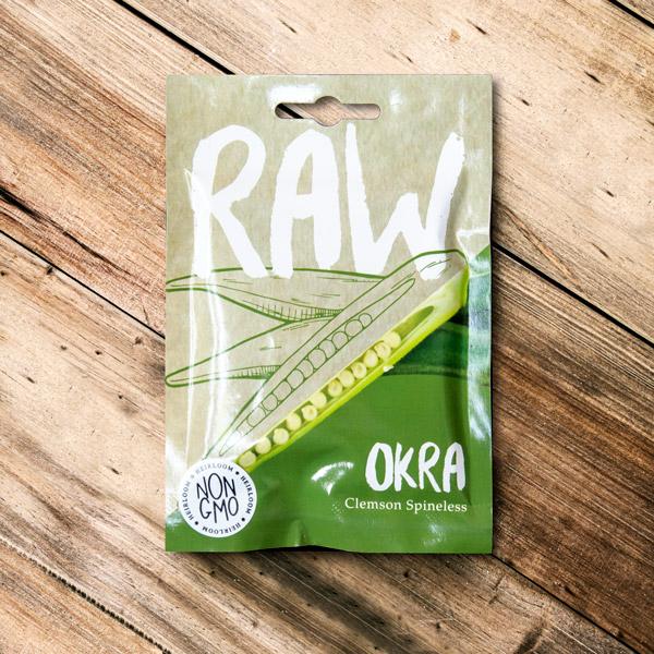 70048914 - Raw - Okra clemson spineless