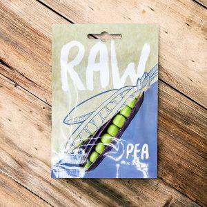 Raw – Pea Blue Shelling
