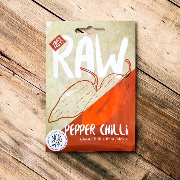 70062630 - Raw - Pepper Chilli Ghost Chilli Bhut jolokia