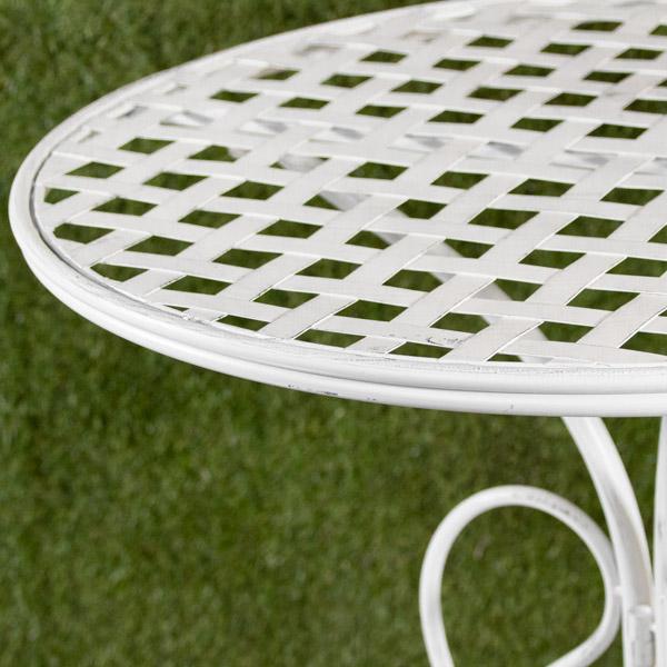 70051830 - Da Table White Woven (2)