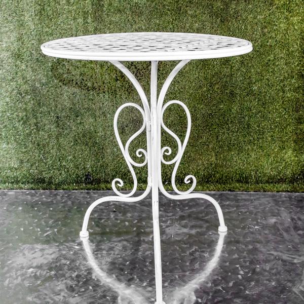 70051830 - Da Table White Woven