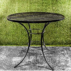 FA Table 4 seater black