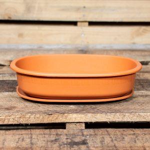 GP Shallow Pot + Saucer
