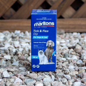 Marltons – Tick & Flea Dip 100ml