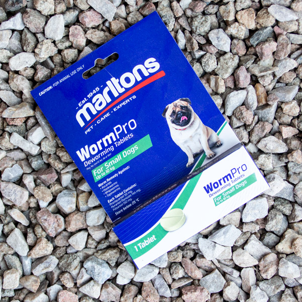 70056689 - Marltons - WormPro Dogs Small