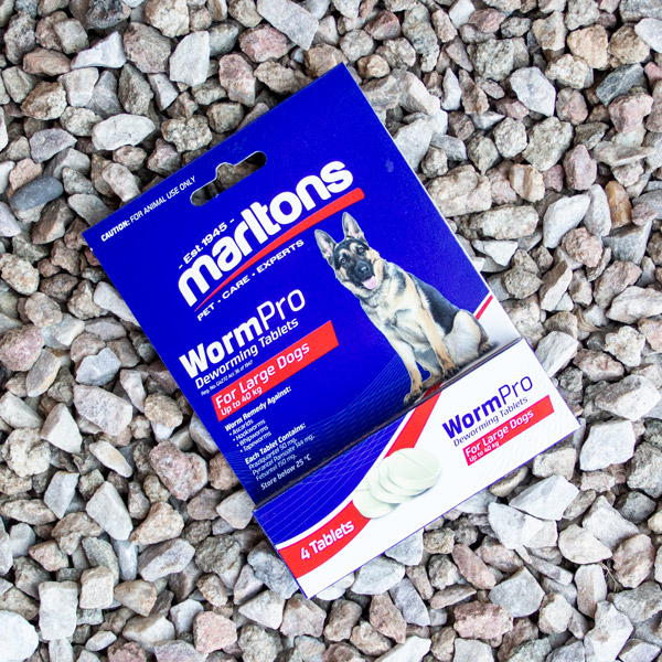 70056691 - Marltons - WormPro Dogs Large