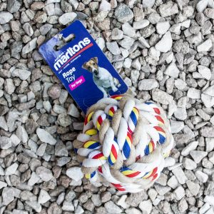 Marltons – Dog Rope Bone 7.6cm