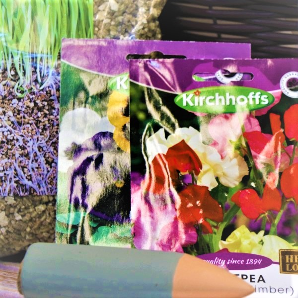 70063486 - hanging basket with gloves,kirchhoffs seeds,Vermiculite and waterplug stick (3)
