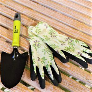 Garden Trowel With Garden Gloves