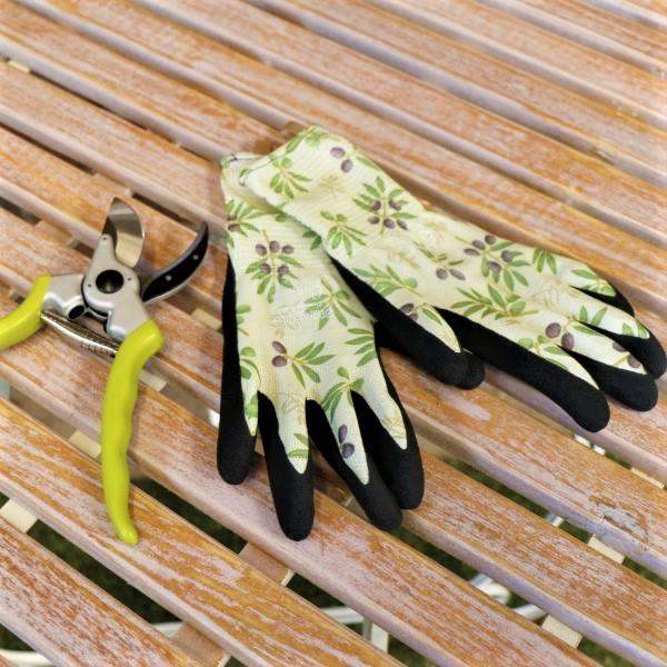 70063499 - Adjust Handle Bypass Pruner With Garden Gloves (2)