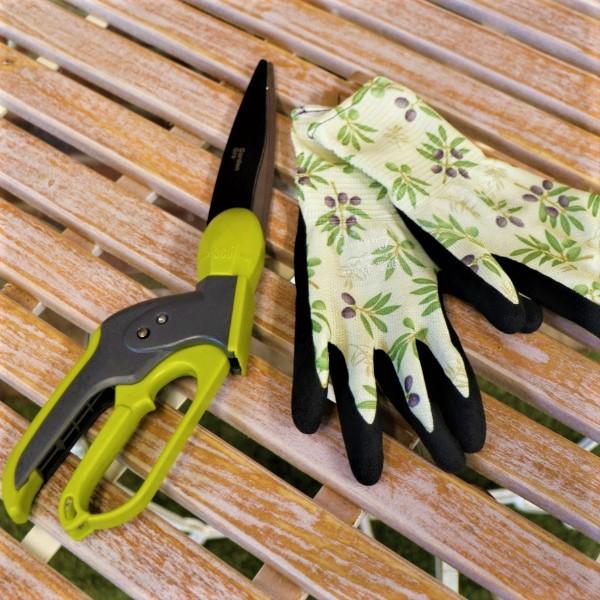 70063801 - Swivel Grass Shears With Garden Gloves