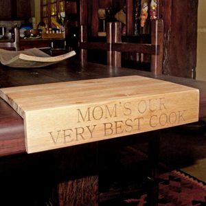 Personalised Kiaat Wooden Chopping Board