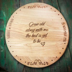 Custom Made Cheese Board With Out Handles